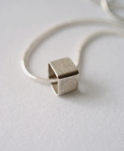 Tiny Square Bead necklace