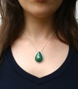 Ornate Green Chrysocolla necklace