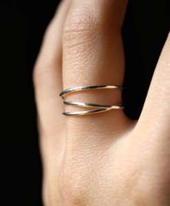 Silver Wraparound ring