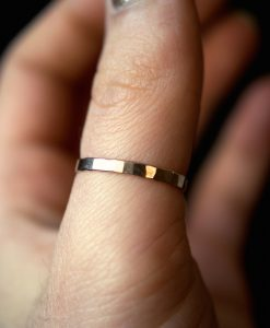 Extra Thick Gold Fill Stack ring