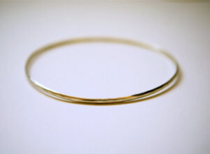 gold bangle jewelry