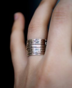 Ultra Thin set of 15 sterling silver