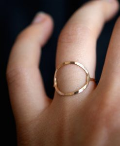 Skinny Gold Infinity ring