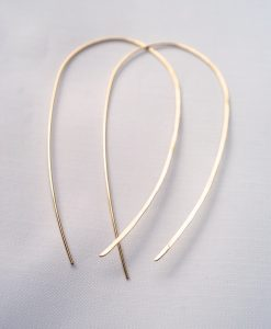 U-Shaped Open Hoops in 14kt Gold-fill