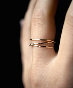 Gold Fill Wraparound ring