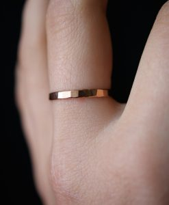 Extra Thick Rose Gold ring