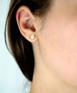 Gold Dot Stud earrings