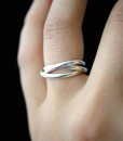 Interlocking rings, Silver