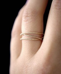 Gold Wraparound ring