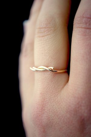 Gold-Fill Wave Ring